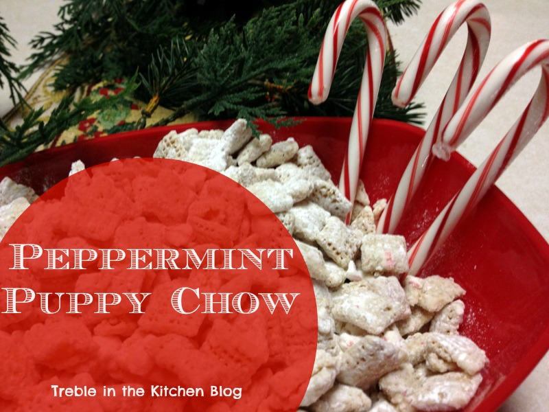 peppermint puppy chow text